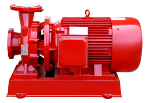 XBC-ISW Satu Tahap Horizontal Centrifugal Fire Fighting Pump